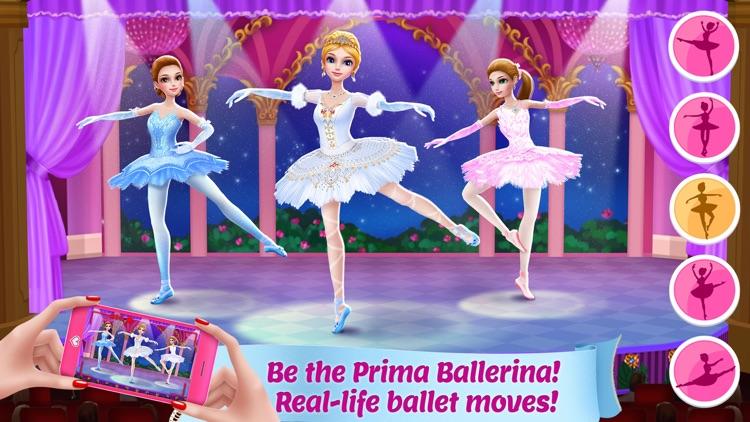 Pretty Ballerina Dancer
