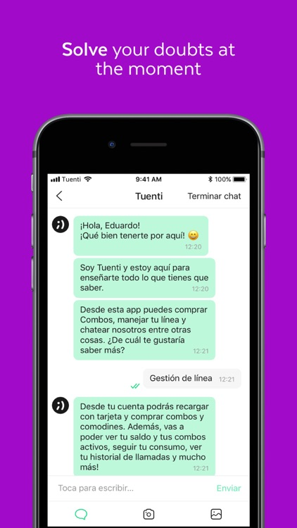 Tuenti screenshot-3