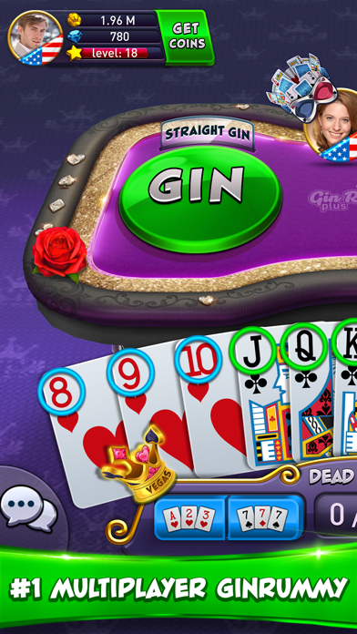 Gin Rummy Plus - Card Game på PC