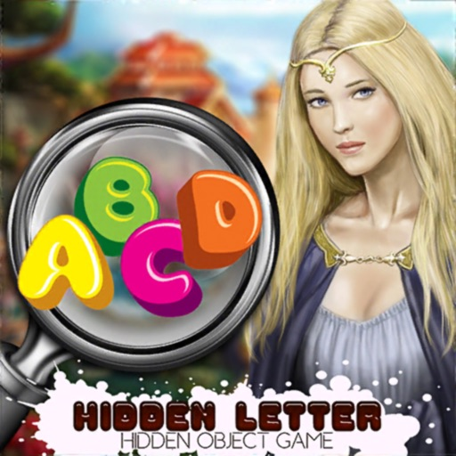 Find Hidden Letters icon