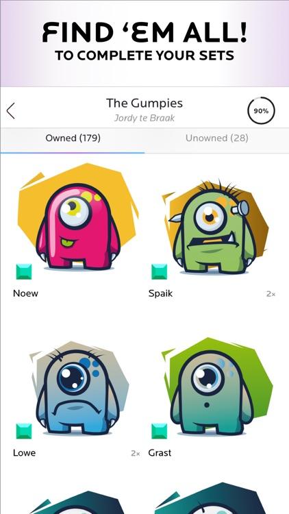 NeonMob - Card Collecting Game screenshot-4