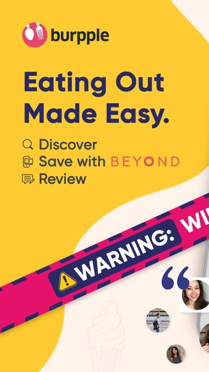Burpple - Food Reviews & Deals screenshot-0