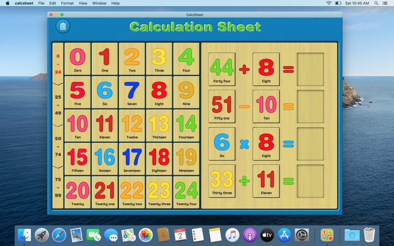 数字运算多米诺 - 天才宝宝益智学习机 for Mac