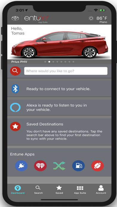 cancel Toyota Entune app subscription image 1