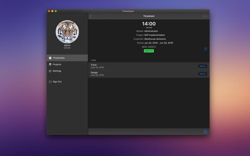 商业时间录入 for Mac