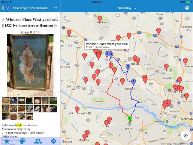 Yard Sale Treasure Map on the App Store
