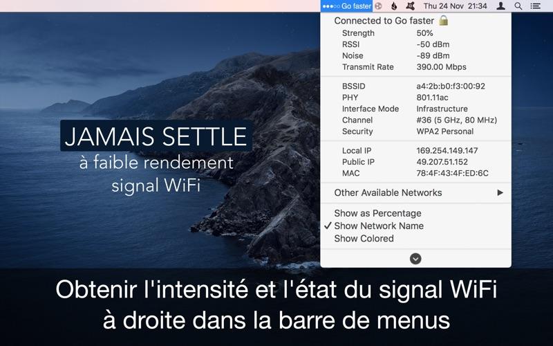 Screenshot Wifi Signal Force Explorer