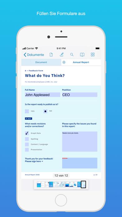 PDF Viewer Pro by PSPDFKitScreenshot von 3