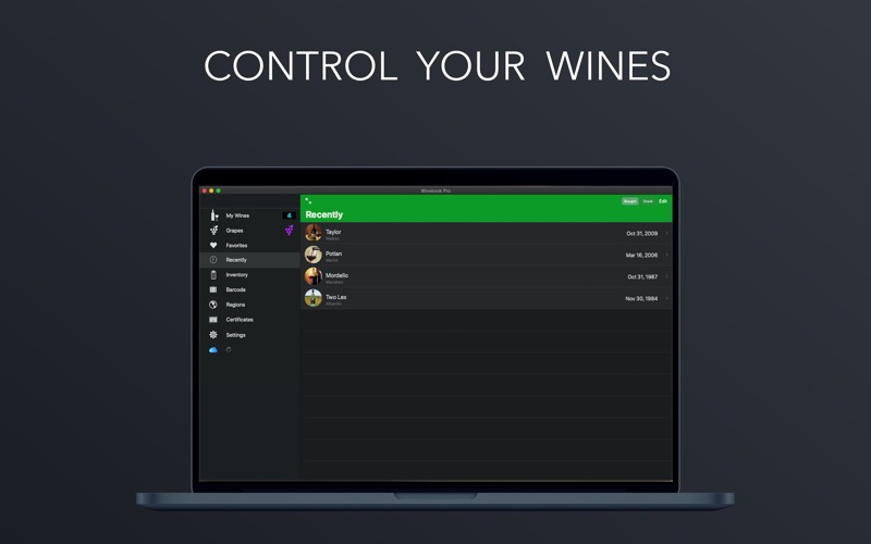 Winebook Pro for Mac
