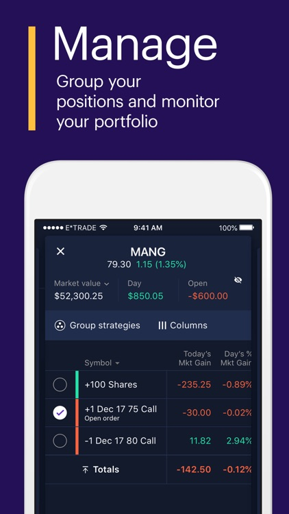 Power E*TRADE-Advanced Trading screenshot-4