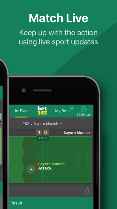 bet365 - Sports Betting by bet365 (iOS, United Kingdom