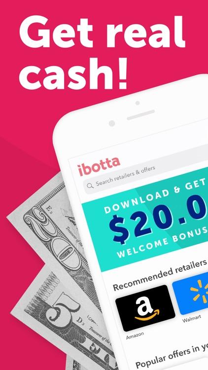 Ibotta: Save & Earn Cash Back screenshot-0