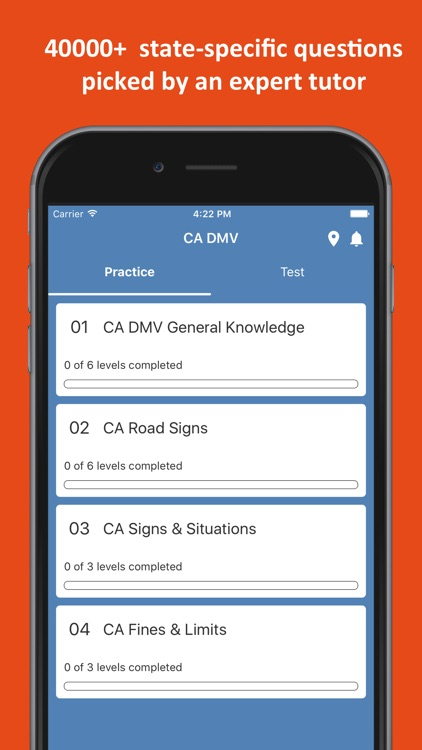 DMV Permit Practice Test 2019 screenshot-0