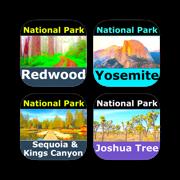 TOP NATIONAL PARKS of CALIFORNIA – Recreational Bundle