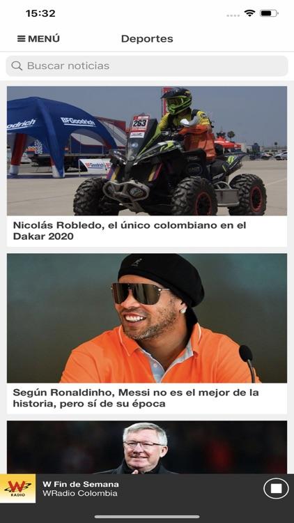 WRadio Colombia para iPhone screenshot-3