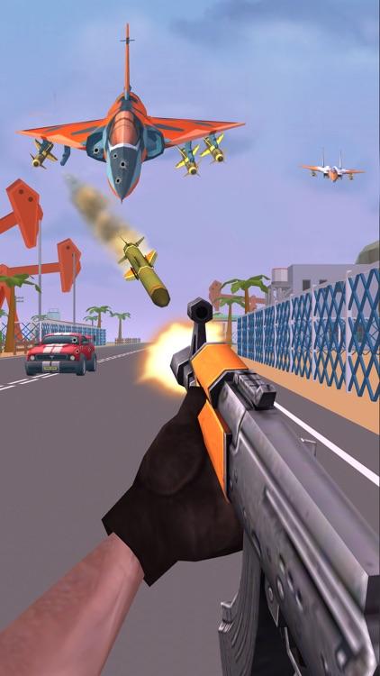 Shooting Escape Road-Gun Games screenshot-0