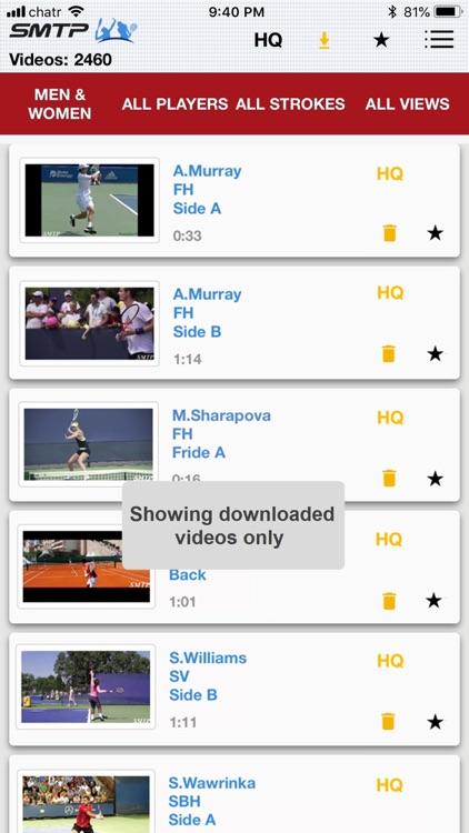 Slow Motion Tennis Pros screenshot-9