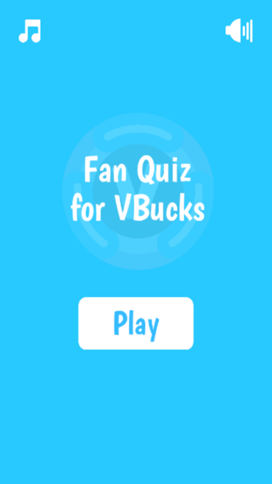 Fan Quiz for VBucks screenshot 1