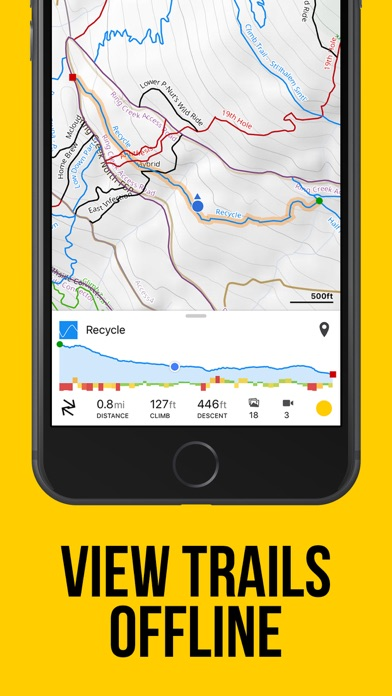 Screenshot for Trailforks - Mountain Bike Map in Hong Kong App Store