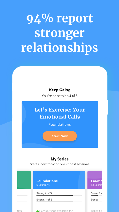 Lasting: Marriage Health App Screenshot