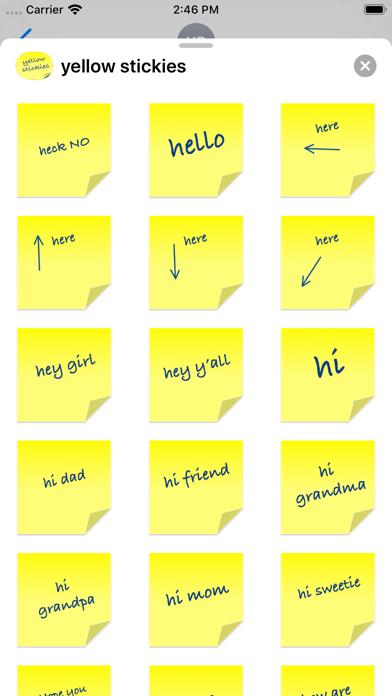 yellow stickies screenshot 10