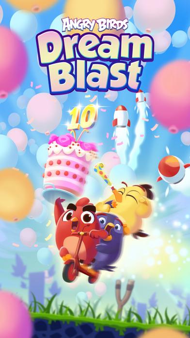 Herunterladen Angry Birds Dream Blast für Android