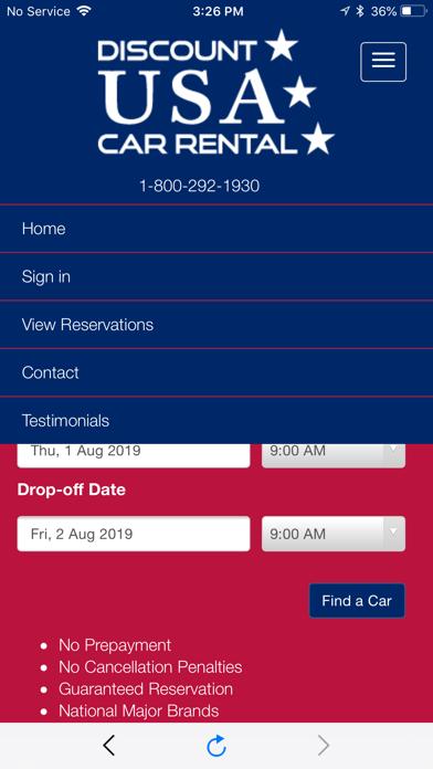 messages.download Discount USA Car Rental software