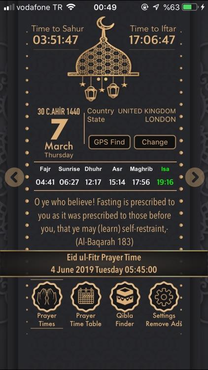 Muslim Prayer - Ramadan 2020