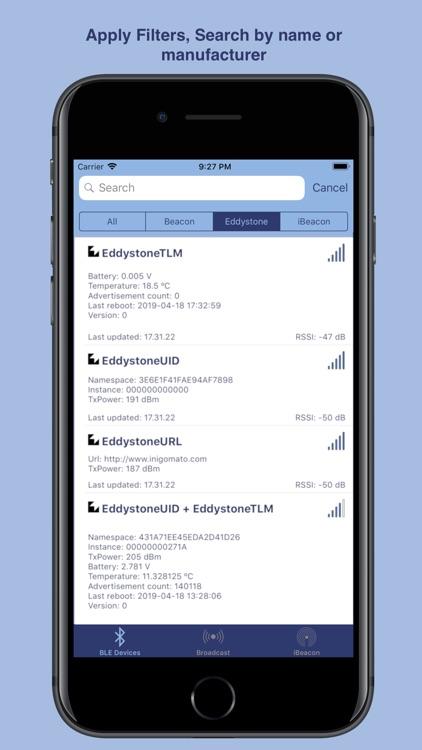 Scanner Bluetooth by Inigo Mato