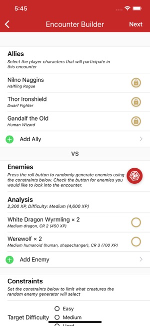 Game Master 5th Edition on the App Store