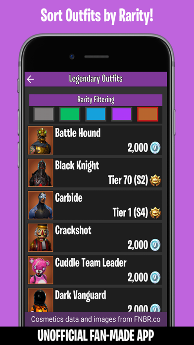 Screenshot for Dances from Fortnite in South Africa App Store
