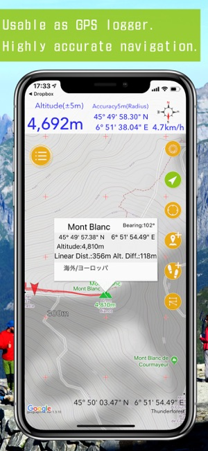Geographica -Offline GPS App- on the App Store