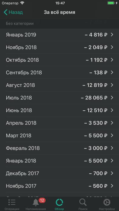 CashSync: Учет расходов + PROСкриншоты 6