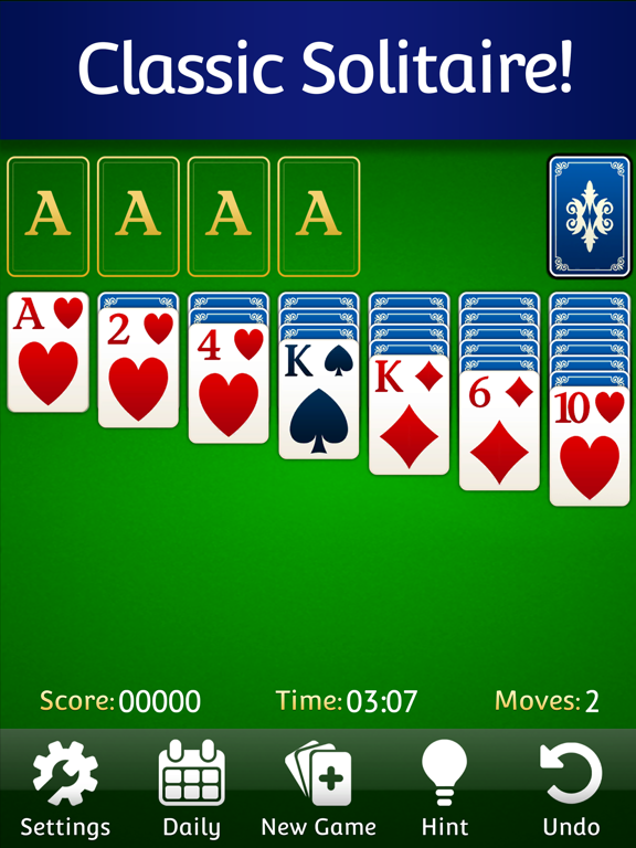 iPad Image of Solitaire ⁂