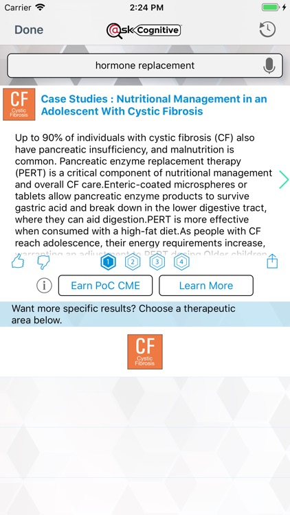 Cystic Fibrosis @Point of Care screenshot-3