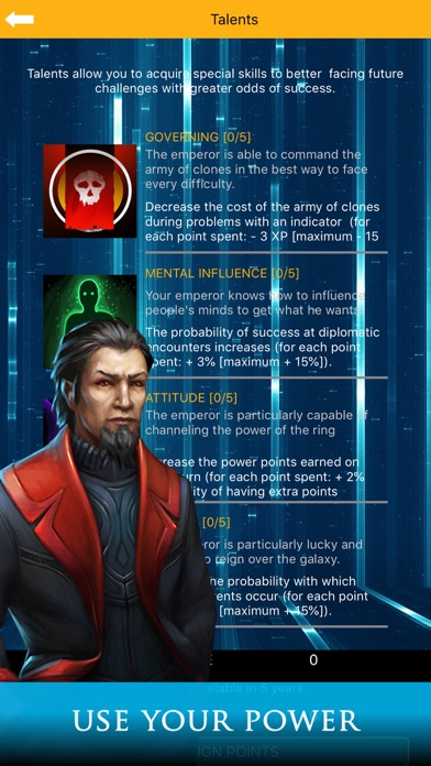 Galactic Emperor: Strategy RPG screenshot 5