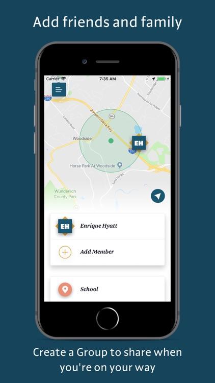 On My Way: Family GPS Tracker