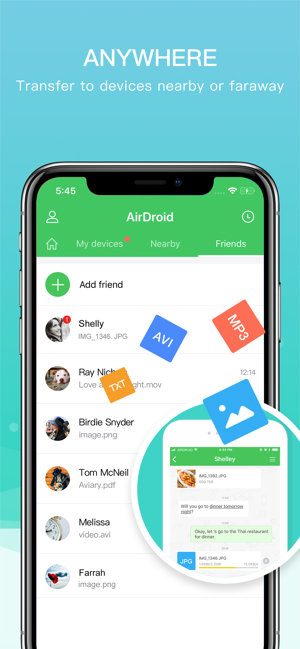 ‎AirDroid - File Transfer&Share Screenshot