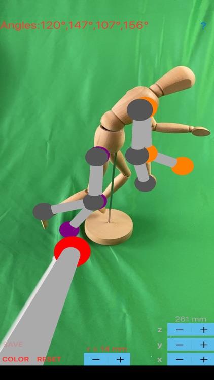 ARorthopaedicGoniometer screenshot-5