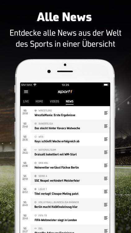 SPORT1: Sport & Fußball News screenshot-5