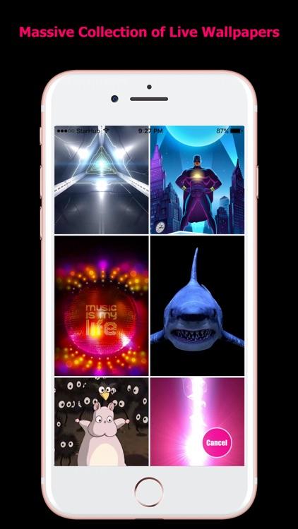 Live Wallpapers for iPhones screenshot-3