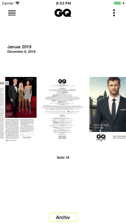 GQ Magazin (D) screenshot-4