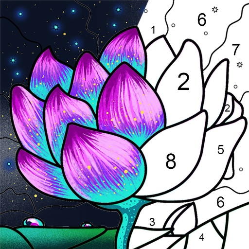 Paint By Number: Coloring Book icon
