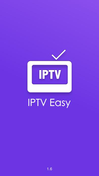 Screenshot #1 pour IPTV Easy - m3u Playlist