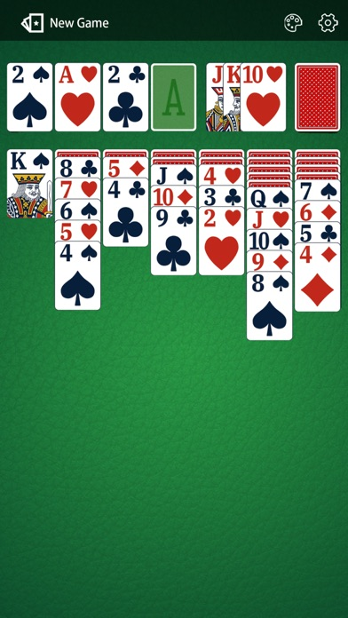 Solitaire Card 2: Match Draw Screenshot on iOS