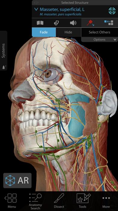 Screenshot for Human Anatomy Atlas 2020 in Denmark App Store