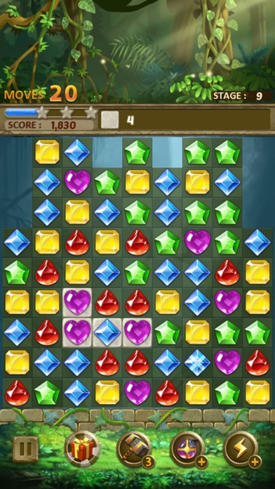 Jewels Jungle : Match 3 Puzzle screenshot 9