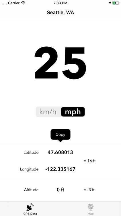 GPS Data - Speed & Altitude screenshot-3