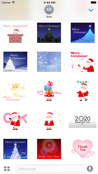 Animated Merry Christmas Pack screenshot 3