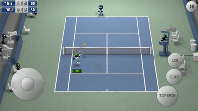 Screenshot from Stickman Tennis - Career